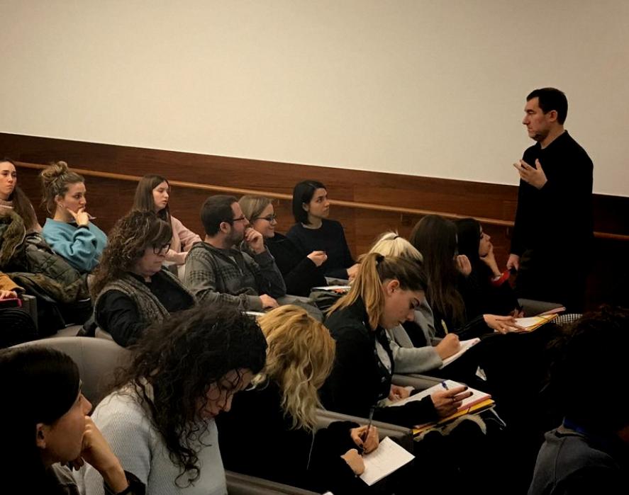 Convidat a la Universitat de Lleida